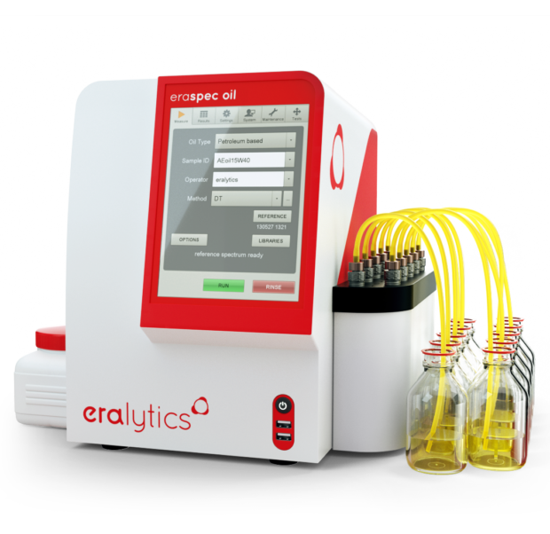 ERASPEC Oil with 10-position autosampler