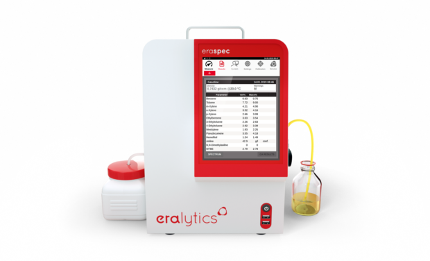 ERASPEC Fuel analyzer - Spectral Fuel Analysis in Seconds