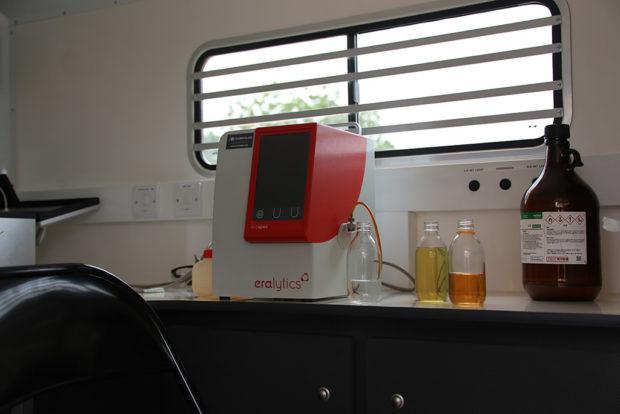 On-site fuel testing with mobile laboratories - eralytics